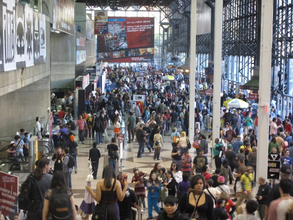 Just a taste of what a small area at the New York Comic Con looked like on Saturday