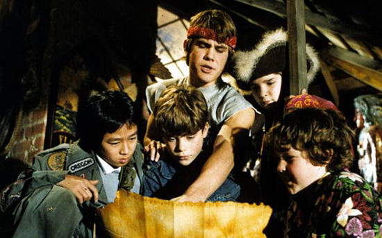 Like tourists trying to decipher the MTA Subway map, Mikey & the Goonies try to save their town.